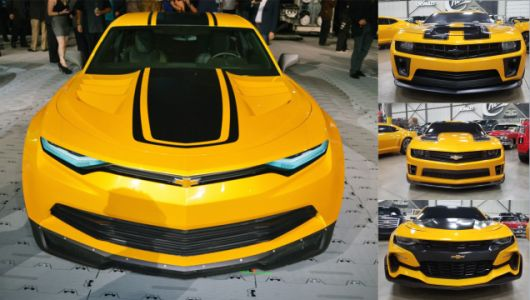 You Can Buy All Four Bumblebee Camaros From Transformers, but They're Not Street Legal
