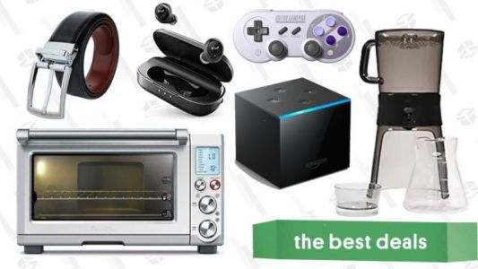 Thursday's Best Deals: Wireless Headphones, Fire TV Cube, Cold Brew Coffee Maker, and More