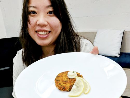A 23-year-old college dropout got $100,000 from Peter Thiel to make fish-less 'salmon' burgers inspired by soy and sake
