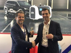 Framework Contract for Valet Parking Robots Signed by Gatwick Airport Today