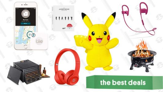 Friday's Best Deals: A James Bond Box Set, Beats Headphones, Power Action Pikachu, And More