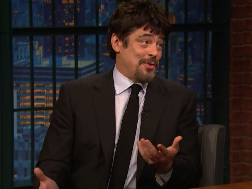 'Star Wars' actor Benicio Del Toro says 'The Last Jedi' script was so secretive that a man waited outside his house for 8 hours while the actor read it