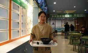 China opens first unmanned railway station eatery as Spring Festival travel begins