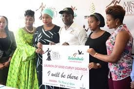 The state minister for Uganda tourism launched 'Miss Curvy' campaign