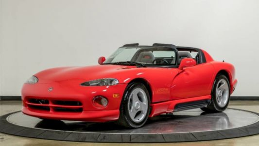 I Need This Time Capsule 1992 Dodge Viper With 34 Miles on the Clock