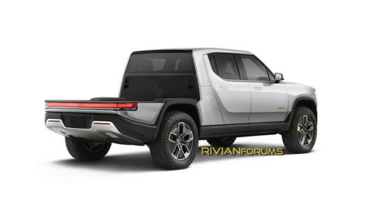 These Renders of Rivian's Modular Truck Make a Great Argument for Modularity