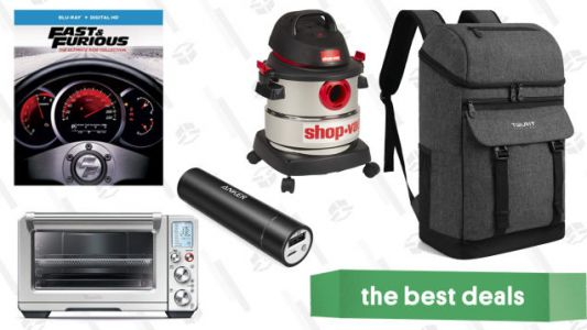 Monday's Best Deals: Anker Lightning Cables, Smart Oven, Insulated Backpacks, and More