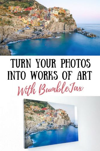 Turn Your Vacation Photos Into Works of Art With BumbleJax