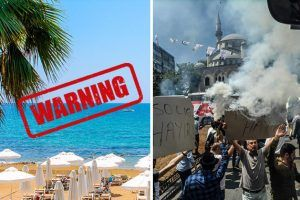 Travel warning for European tourists to Turkey