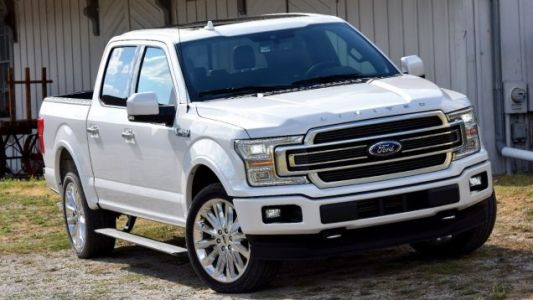 Electric Ford F-150 Spied With Fake Exhaust