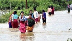 8,000 people were affected by flash floods in southern Sri Lanka