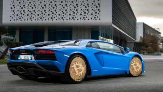 Cryptocurrency Exchange Stages Rented Lamborghinis In Front Of NYC Crypto Conference