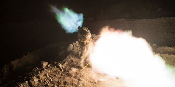 This crazy photo shows the power of the Carl Gustaf M4 bazooka