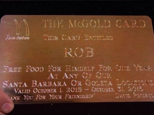 A random person has the chance to win a McDonald's Gold Card and a lifetime of free fast food. Here's the real story behind the mythic card in Bill Gates' and Warren Buffett's wallets