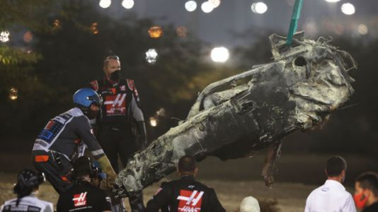 Here's What Happened During Romain Grosjean's Scary F1 Crash In Bahrain