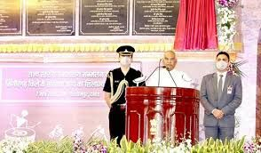 The Indian President inaugurated state level tribal conference at Singrampur gram panchayat