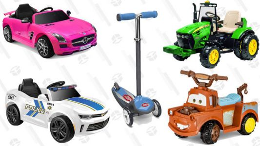 Amazon Has Ride-On Toys Starting at $39, and We Wish They Were for Adults