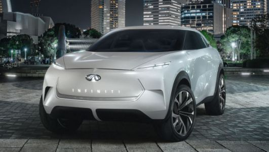 The Infiniti QX Inspiration Concept Is Infiniti's Electrified Future, and at Least It's Different