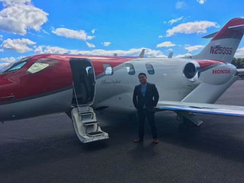 I flew on Honda's new $4.5 million private jet and it's an absolute gamechanger
