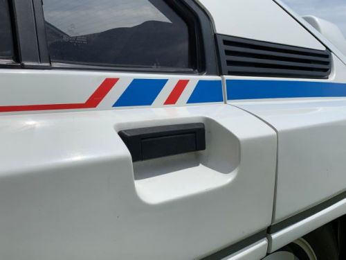 This is the best detail of the Citroën BX 4TC homologation special