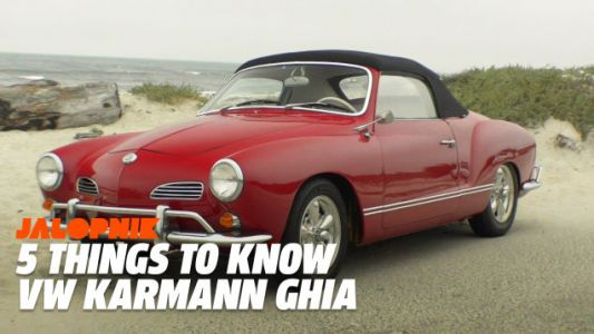 Five Things to Know About the Volkswagen Karmann-Ghia, And Its Sort-Of Stolen Design