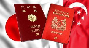 Japan and Singapore have the world's most powerful passports