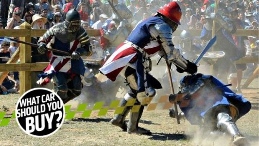 I'm a Medieval Sword Fighter and I Need a Ride That Can Be My Armor! What Car Should I Buy?