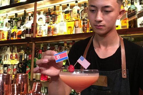 Vietnamese bars near the site of the next US-North Korea nuclear summit are serving up Trump and Kim Jong Un-themed cocktails
