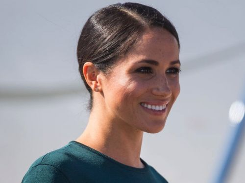 Meghan Markle wore emerald green for her first official trip to Ireland - and it's proof she's using one of Kate Middleton's favorite style hacks