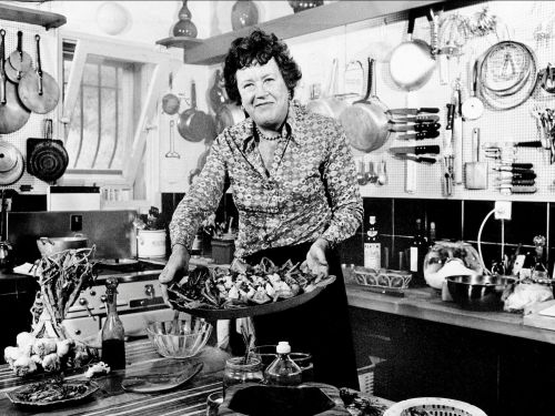 These vintage photos of Julia Child in the kitchen will inspire you to cook