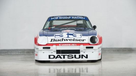 Whoever Buys Paul Newman's Championship Winning Datsun 280ZX Should Race It Immediately