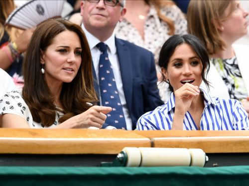 Our favorite new royal duo Meghan Markle and Kate Middleton stepped out solo together for the first time