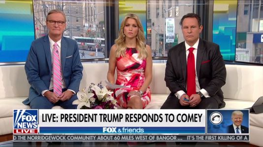 In long rant on 'Fox & Friends', Trump admits he stayed overnight in Moscow -alluding to the most salacious allegation in the Steele dossier