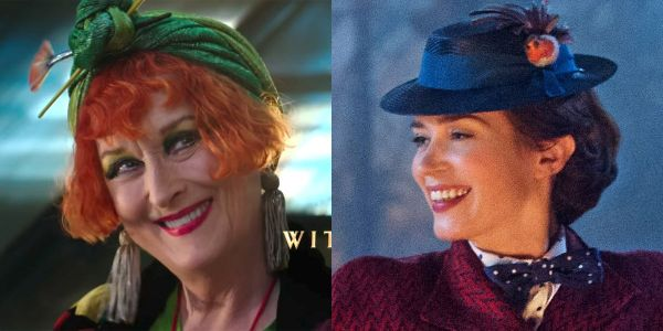 Meryl Streep is going to be in the new 'Mary Poppins' movie and she looks unrecognizable