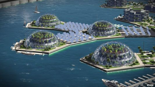 A pilot project for a new libertarian floating city will have 300 homes, its own government, and its own cryptocurrency