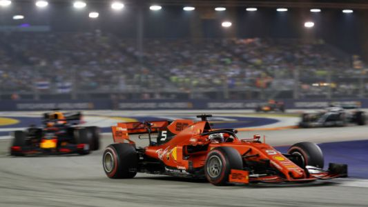 Ferrari Flexes On Mercedes With A 1-2 Finish In Singapore Grand Prix