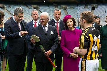 Tourism Ireland welcomes visit by King Carl XVI Gustaf and Queen Silvia of Sweden