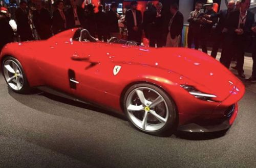 The Ferrari Monza SP1 Is A One-Seat Speedster With 789 Horsepower