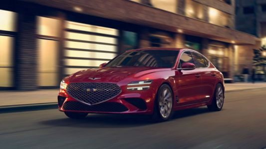 Budget For Tires Because The 2022 Genesis G70 Could Be Getting A Dirty Drift Mode
