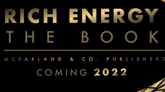 That Book About Rich Energy Is Coming In 2022