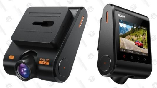 Keep An Extra Eye On the Road With This $51 Anker Dash Cam