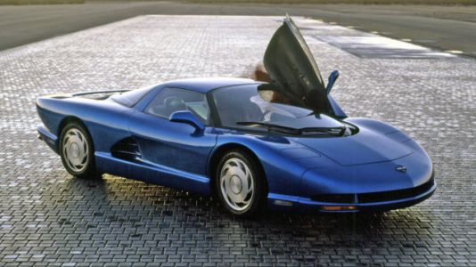 I sure hope the mid-engine Corvette, pictured, makes a surprise appearance at the Detroit Auto Show