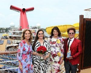Carnival Sunrise Officially Named by Godmother Kelly Arison in New York