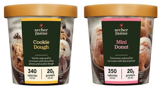 Target is now selling its own low-calorie ice cream to rival Halo Top - and one of the flavors is essentially donuts in a pint
