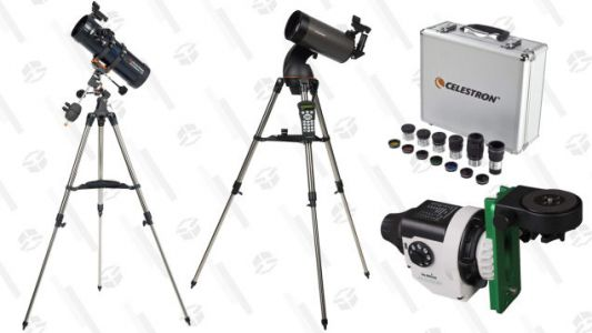 With This Celestron Gold Box, A Stargazer Is Born