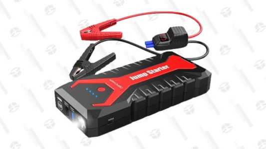 Grab a Portable Jump Starter to Make Sure You're Prepared for Dead Batteries