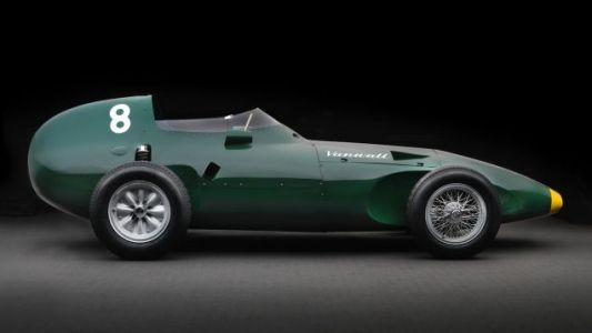 This Time-Travelling Car Is Here To Help You Win The 1958 Formula One Championship