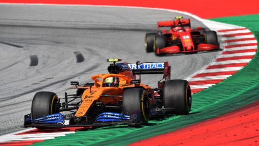 Lando Norris Makes His First Podium Finish As Formula One Makes A Messy Return In Austria