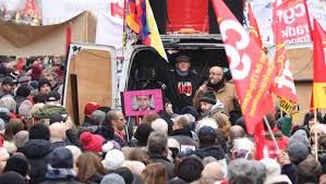 Workers protest Macron's pension reforms, paralyse Paris