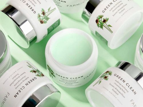 This cleansing balm turns the dirt, grime, and makeup on my face into an oily soup that feels so good to wipe off